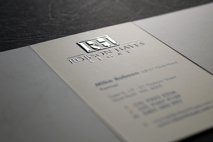 Raised UV 3D Skodex Business Cards | Print and Sign Services ...