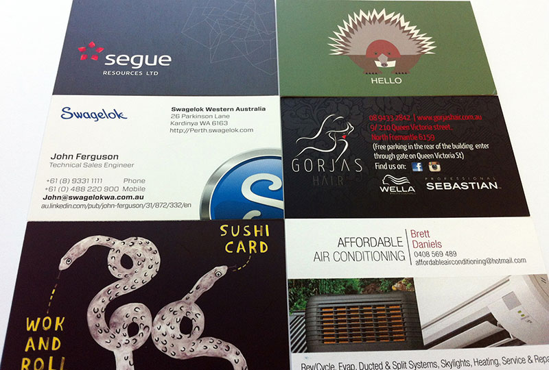 Standard full colour business cards docuprint print and sign standard full colour business cards docuprint print and sign services fremantle perth western australia reheart Image collections